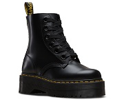Dr. Martens    BLACK BUTTERO MOLLY