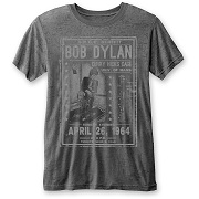BOB DYLAN UNISEX TEE: CURRY HICKS CAGE (BURN OUT) BOB DYLAN 2