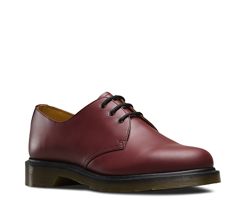 Dr Martens 1461Shoe CHERRY RED PW SMOOTH 1461/C