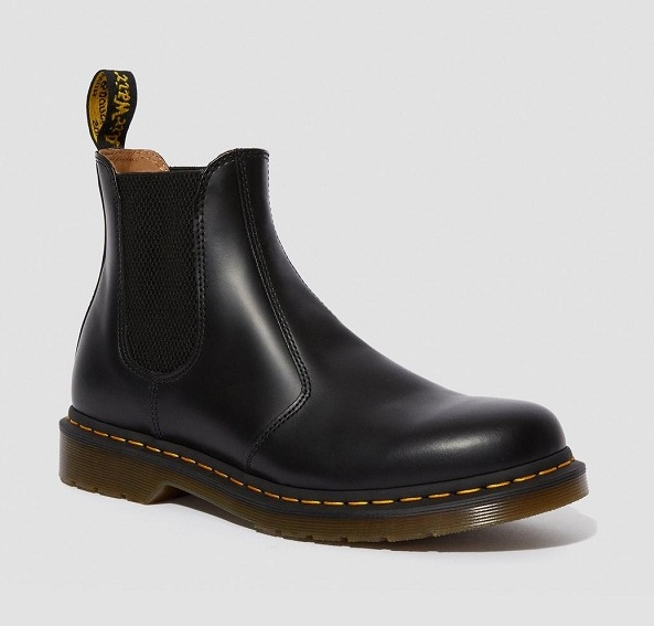 Dr Martens Chelsea BLACK SMOOTH  2976/2