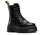 Dr. Martens  BLACK POLISHED SMOOTH   JADON