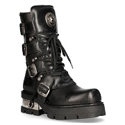 New Rock boot metallic  M-373-S1