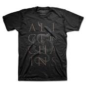 ALICE IN CHAINS UNISEX TEE: SNAKES ALICE C1