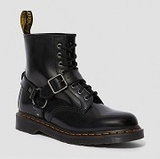 Dr Martens BLACK POLISHED SMOOTH  1460  ARNÉS 1460 A