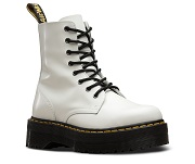Dr. Martens JADON POLISHED SMOOTH WHITE JADON W