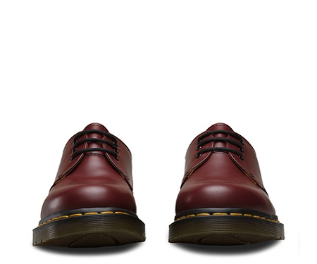 Dr Martens 1461 Shoe CHERRY RED SMOOTH  1461